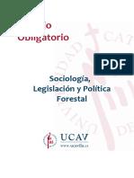 To Sociologia Legislacion y Politica Forestal