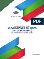 Guía Práctica para Asociaciones Sin Fines de Lucro (ASFL) en República Dominicana