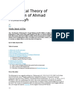 The Ethical Theory of Education of Ahmad Miskawayh