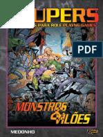 Daemon - Anime RPG - Supers - Monstros e Vilões