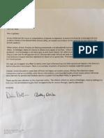 DeVos Letter