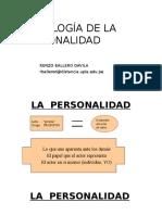 Personalidad - Clase 1