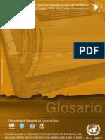 Glosario de Información Armas, Municiones y Explosivos
