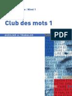 Club des mots_ auxiliar de trabalho