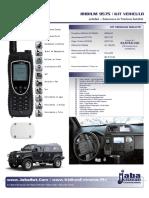 JabaSat iridium 9575 Kit Vehiculo
