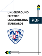 2014 Underground Electric Construction Standards