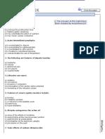 Pharmacology - MCQs