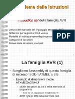 Set Di Istruzioni Della Famiglia AVR