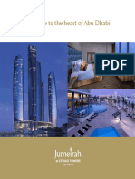 Jumeirah at Etihad Towers Fact Sheet 1
