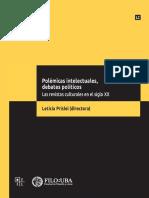 Polémicas intelectuales, debates políticos. Las revistas culturales en el siglo XX -Prislei
