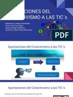 Aportaciones Del Conectivismo a Las TIC