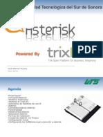 Asterisk y Trixbox