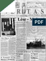 William Cooper - Veritas Newspaper - Issue #1 - March 10, 1995