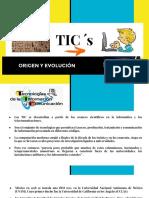 Origen y Evolución de Las Tics