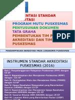 Pembentukan Panitia Pelaksana Akreditasi Puskesmas