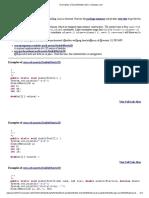 Examples of DoubleMatrix2D _ Massapi3