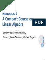 Rob2 03 Linear Algebra