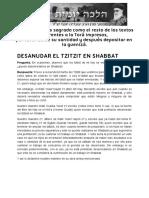 DESANUDAR EL TZITZIT en SHABBAT _ Halajá Diaria Según La Opinión de Marán Rabí Ovadiá Yosef ZT_L