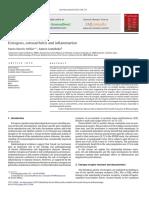 Estrogens, Osteoarthritis and Inflammation