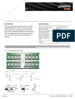 Kingston KVR800D2N5 2G Datasheet