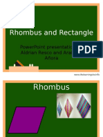 Rhombus and Rectangle
