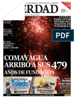 Periodico La Verdad Diciembre 2016 / NAVIDAD Y EL 479 ANIVERSARIO DE COMAYAGUA