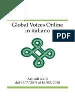 Raccolta Articoli Global Voice in eBook