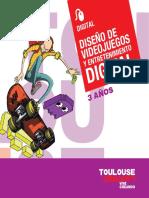 Diseño de Videojuegos ToulouseLautrec