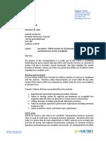 SORTA letter to Transdev