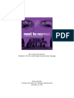 Next to Normal the Musical