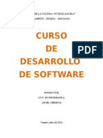 Cur So Dedes Arrollo de Software