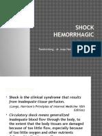 Shock Hemorrhagic
