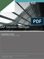 Sap Solution Manager - Installation Guide - windows MaxDB