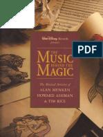 The Music Behind the Magic - Song Notes & Lyrics Book