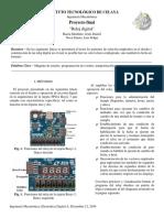 Mapeo para la construcción de un reloj digital en la tarjeta FPGA Basys 3