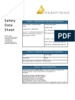 SOLIDITY TRADE  Material Safety Data Sheet