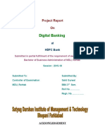 Digital Banking - HDFC Bank