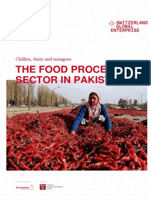 Food processing industry of Pakistan pdf | Retail | Milk