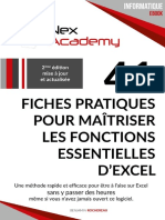 41 Fiches Pratiques Pour Maîtriser Les Fonctions Essentielles D_Excel - Benjamin ROCHEREAU