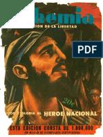 Revista Bohemia Tomo I 1959