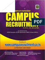Campus Recruitment Book