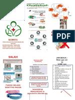 Leaflet Edukasi Pasien Dan Pengunjung