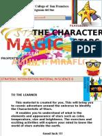 Characteristics of Stars (SIM) STAR MAGIC presents