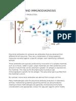Immunology-Antibodies and Immunodiagnosis