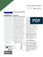 Presse Echo 25 Alt Und-Arm