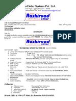 Ashirvad Solar Qtn 500 LP