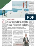 Libri da regalare a Natale per Nicola Lagioia - Tuttolibri 17.12.2016