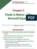 Ch3 Fluids in Motion BerEqn