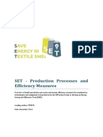 SET- Production Processes and Efficiency Measures