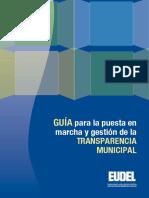 EUDEL - Guía Transparencia Municipal